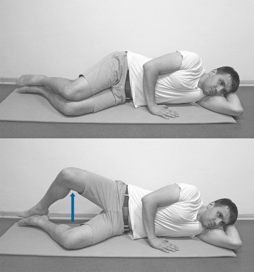 Включение грушевидной мышцы