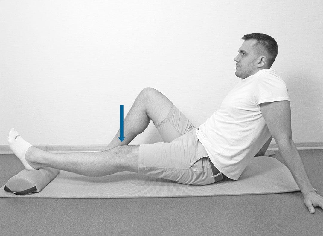 Пассивное разгибание колена