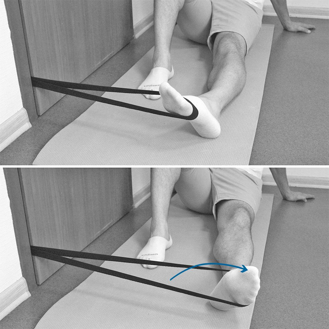Перелом 5 плюсневой кости упражнения