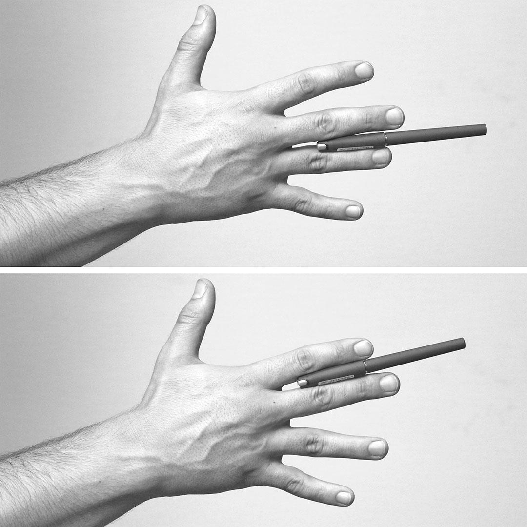 Сжатие пальцами
