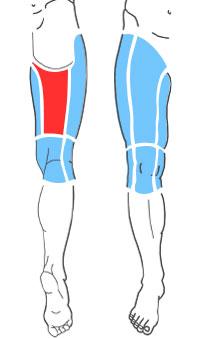 Упражнения при болях по задней поверхности бедра