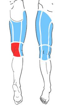 Упражнения при болях по задней поверхности колена
