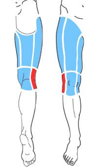 Упражнения при болях по наружной поверхности колена