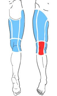 Упражнения при болях по передней поверхности колена