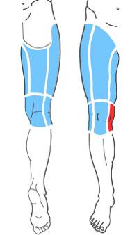 Упражнения при болях по внутренней поверхности колена